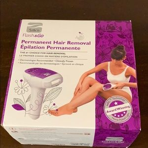Silk'n Flash and Go Permanent Hair Removal